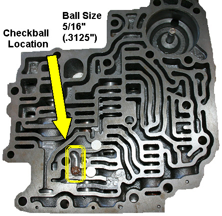 350 Brake Valvebody Checkball